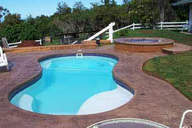 Poolsandspas Fiberglass Pools San Juan Pools Pool Man Clarksville In